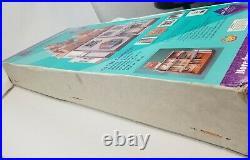 1991 Vintage Dura Craft Cambridge Wooden 9 Rooms Dollhouse Kit NIB New
