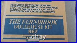 ARTPLY Fernbrook 967 WOODEN DOLLHOUSE Kit NIB