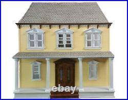 American Dolls House Vivian Mansion 112 Laser Cut Wooden Flat Pack Kit
