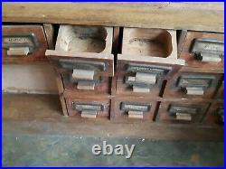 Antique 1920's/1930's Wooden German Dolls House Grocer's Shop Box Form