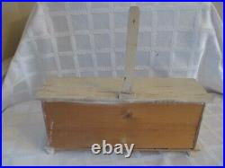 Antique-toy Wooden -germany-grocery Dept Store Counter Display-org Boxes-14.5