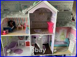 Barbie Bundle And Large Wooden Dolls House. Also Plane, Horse And Over 30 Dolls