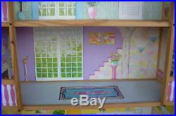 Barbie Doll Size 4 Story Wooden Doll House New In Factory Carton