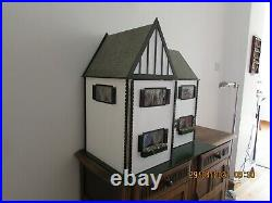 Beautiful Hand Made Wooden Dolls House