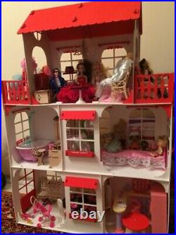 Big Doll House. 1158128. Wooden Modern Doll's House