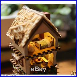 DIY Handcraft Miniature Project Wooden Dolls House Kit Islands Forest Adventure