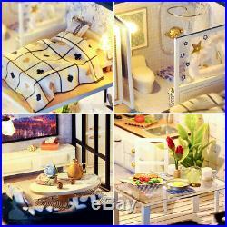 DIY Handcraft Miniature Project Wooden Dolls House My Classic Little Studio 2019