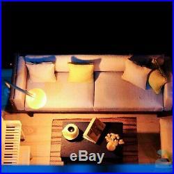 DIY Handcraft Miniature Project Wooden Dolls House My Elegant Little Studio 2020