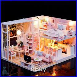 DIY Handcraft Miniature Project Wooden Dolls House My Little Studio Of Serenity