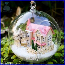 DIY Handcraft Miniature Project Wooden Dolls House The Angel's Magic House