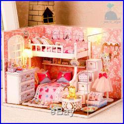 DIY Handcraft Miniature Project Wooden My Little Angels Bedroom Dolls House 2018