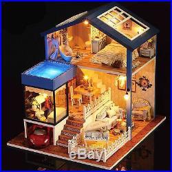 DIY Handcraft Miniature Wooden Dolls House Project My Little House in Seattle
