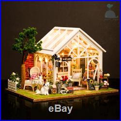 DIY Handcraft Miniature Wooden Project My Secret Little Greenhouse Dolls House