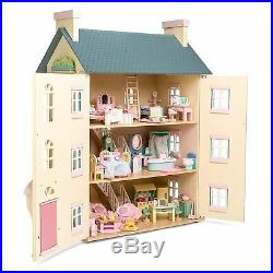 Daisylane Wooden Cherry Tree Hall Doll's House Kids Toy (h150)