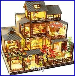 Dollhouse DIY Miniature Wooden Furniture Kit Mini Handmade Big Japanese