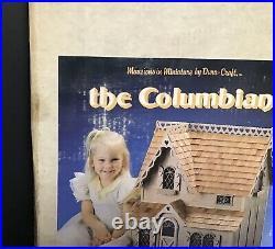 Dura-Craft CB 150 The Columbian Dollhouse Wooden Cottage Doll House NIB