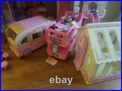 ELC & Rosebud village wooden dolls house bundle immaculate condition