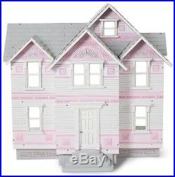 Fast Shipping! NEW Melissa & Doug Victorian Dollhouse Wooden 29.5x28x18