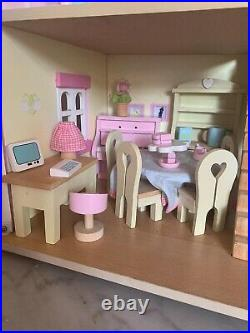 French Wooden Dolls House