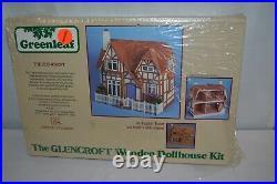 Greenleaf The Glencroft Wooden English Tudor Dollhouse Assembly Kit #8001