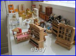 Hand Made Wooden DOLL HOUSE Excellent Condition