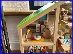 Hape Wooden Dolls House