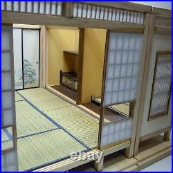 Japanese style Room SET of 3 Doll House Handmade Miniature Kit Wooden 1/12 F/S