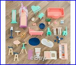 KidKraft 65986 Camila Wooden Dolls House with Funiture and Dollhouse Accessories