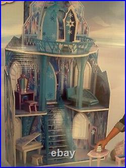 KidKraft Disney Wooden Frozen Ice Castle Dollhouse Furniture Lot Of 11 BRAND NEW