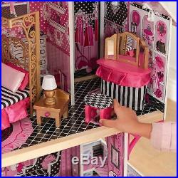 Kidkraft Bella Wooden Kids Dolls House & Furniture Fits Barbies