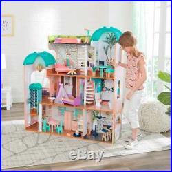 Kidkraft Camila Mansion Dollhouse Wooden Dollhouse Includes Accessories