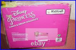 Kidkraft- Disney Princess Dance and Dream Wooden Dollhouse Castle