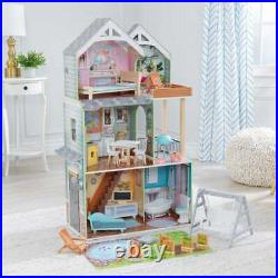 Kidkraft Hallie Play Dollhouse Wooden Dollhouse Free Next Day Delivery