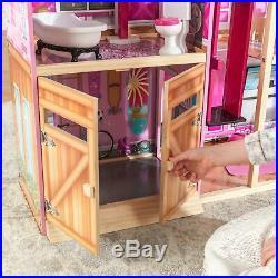 Kidkraft Shimmer Mansion Dollhouse 65949, Age Range 3+ Wooden New