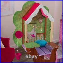Kidkraft Treehouse Retreat Mansion Wooden Dollhouse Dolls House Girls Play Doll