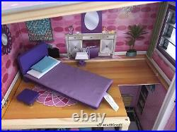 Kidkraft Uptown Wooden Dolls House With Furniture And Accessories