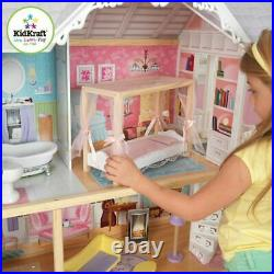 Kidkraft christmas Doll house Girls children girl kids Wooden Barbie birthday UK