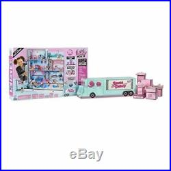 LOL Surprise Doll House 85+ Surprises Wooden Multi Story withNEW FAMILY (IN HAND)