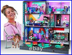 LOL Surprise OMG House Real Wooden Doll House with 85+ Surprises
