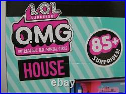 LOL Surprise! OMG Wooden Dolls House with 85+ Surprises BRAND NEW (05/MJE) MGA