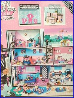 LOL Surprise! Wooden Doll House & 85+ Surprises NEW