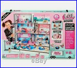 LOL Surprise! Wooden Doll House with Exclusive Family & 85+ Surprises NEWithSEALED
