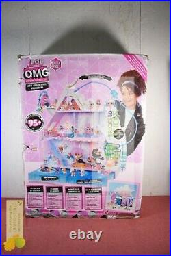 L. O. L. Surprise! O. M. G. Winter Chill Cabin Wooden Doll House with 95+ Surprises