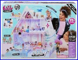 L. O. L. Surprise! Winter Disco Chalet Wooden Doll House Exclusive 95+ Surprises