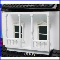 Large Wooden Child Furniture Kids Play Activities Doll House Villa Creative Toy