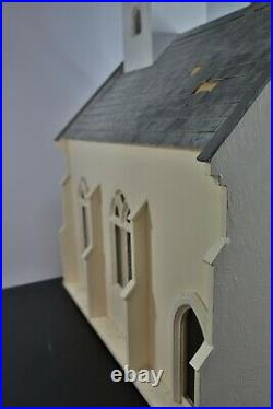 Large Wooden Dolls House Church 112 Maisonette Mezzanine Level School
