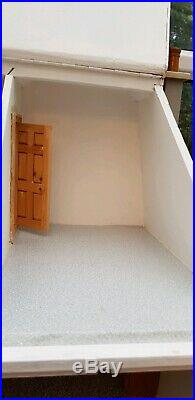 Large Wooden Dolls House With All Furniture and Carpets as in photos here
