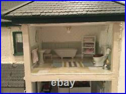 Large Wooden Victorian Dolls House