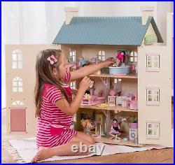 Le Toy Van DOLLHOUSES CHERRY TREE HALL Wooden Dolls House Miniature BNIP
