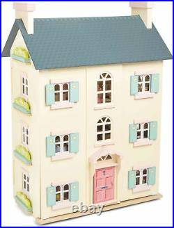 Le Toy Van DOLLHOUSES CHERRY TREE HALL Wooden Dolls House Miniature BN